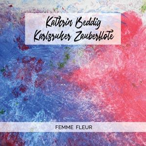 CD Cover Femme Fleur
